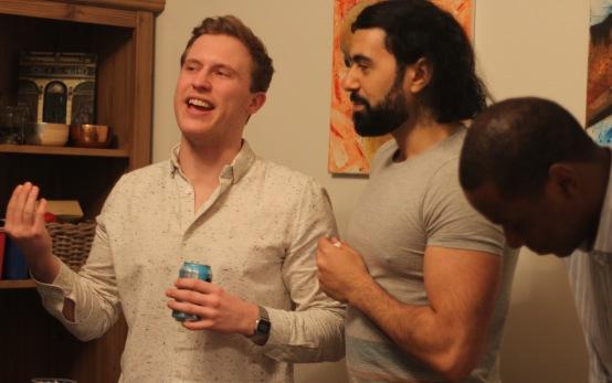 Conor explaining his Mourinho defence