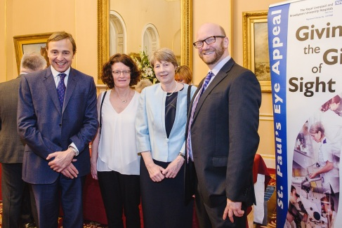 Prof Stephen Kaye, Shirley Slater, Prof Rachel Williams and Dr Kevin Hamill
