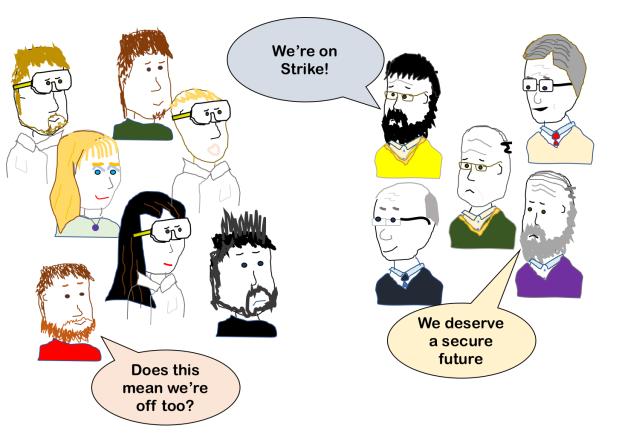 strike - grammar