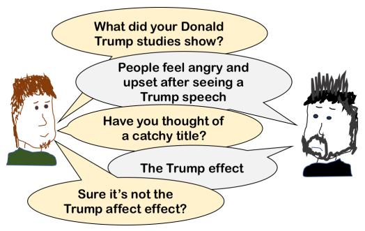 Trump affect effect