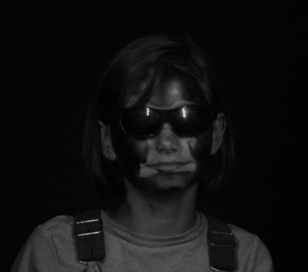 UV blacklight photo