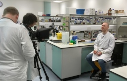 Filming for lab skills teaching