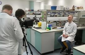 Filming for lab skills teaching